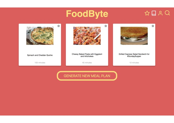 FoodByte – screenshot 6