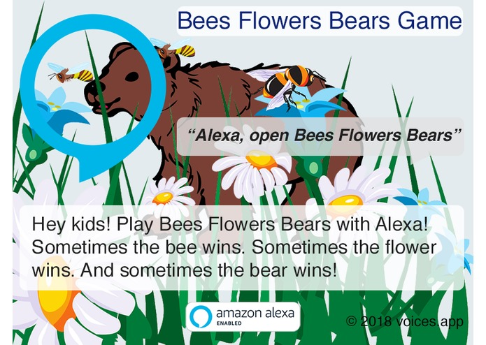Bees Flowers Bears Game – screenshot 1