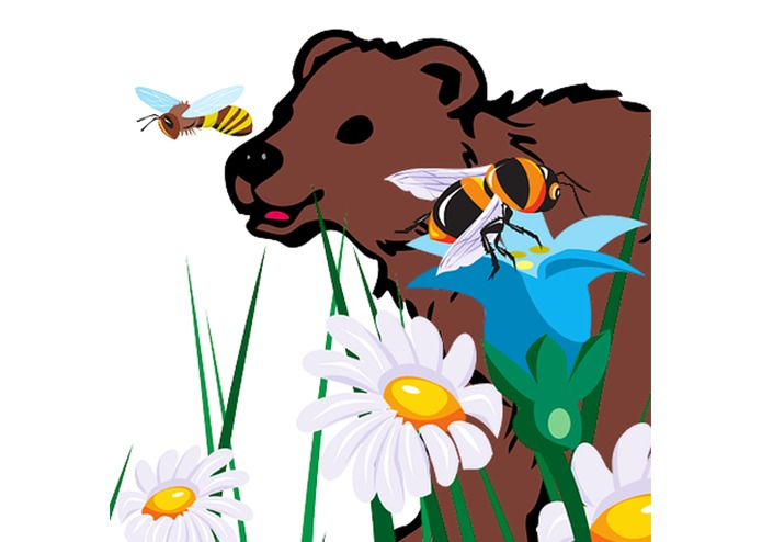 Bees Flowers Bears Game – screenshot 2