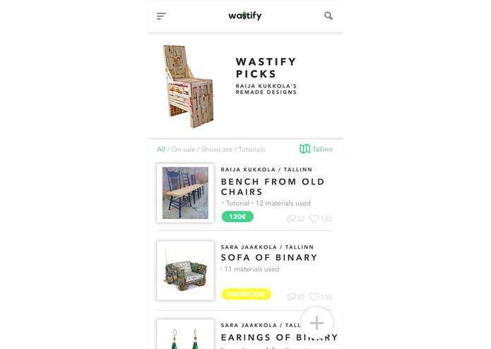 Wastify – screenshot 1