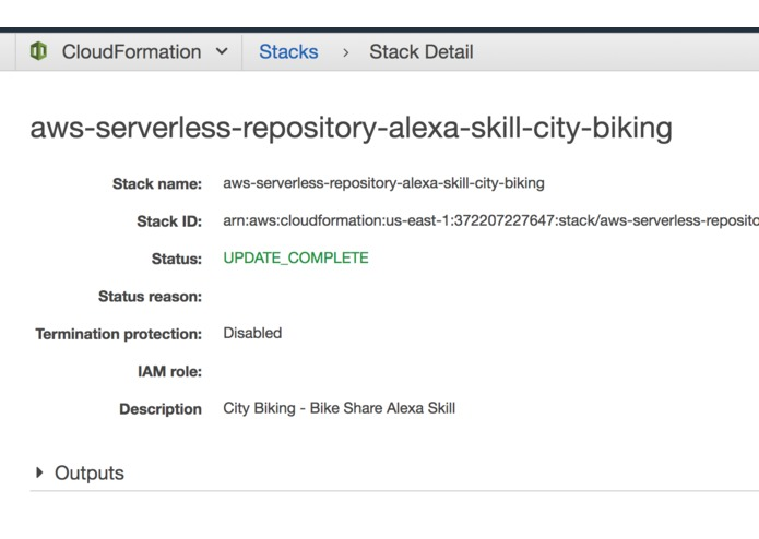 City Biking - Bike Share Alexa Skill built on SAM – screenshot 2