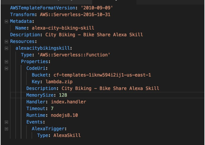 City Biking - Bike Share Alexa Skill built on SAM – screenshot 3