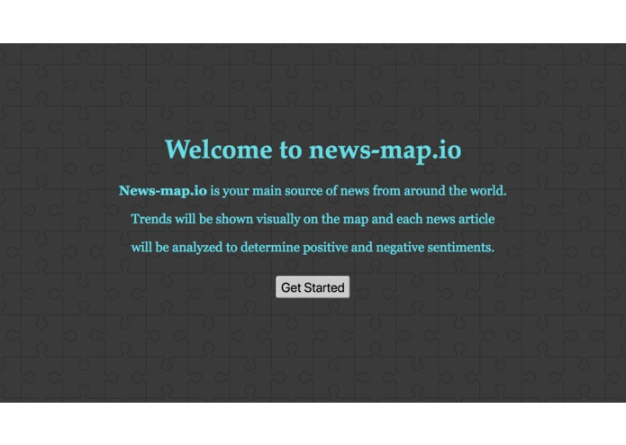 News-Map.io – screenshot 1