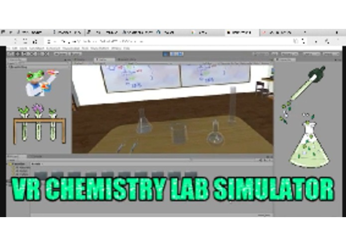 VR Chemistry Lab Simulation – screenshot 1