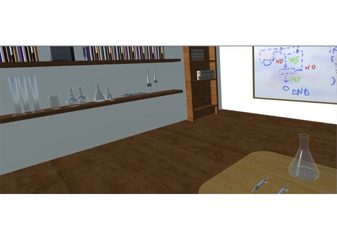 VR Chemistry Lab Simulation – screenshot 2