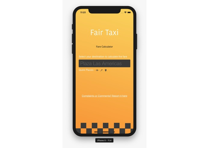 FairTaxi – screenshot 1