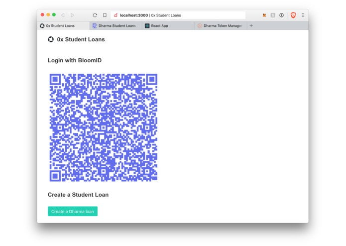 Tokenize Student Loans – screenshot 1