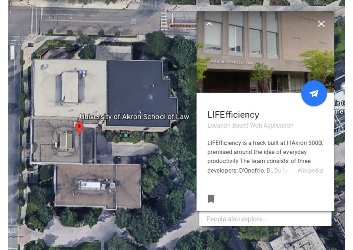 LIFEfficiency  – screenshot 1