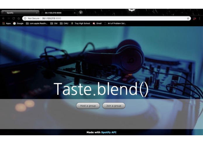 Taste.blend() – screenshot 5