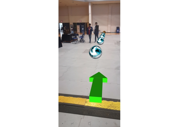 Augmented Reality assisted Hyperlocal Navigation – screenshot 2