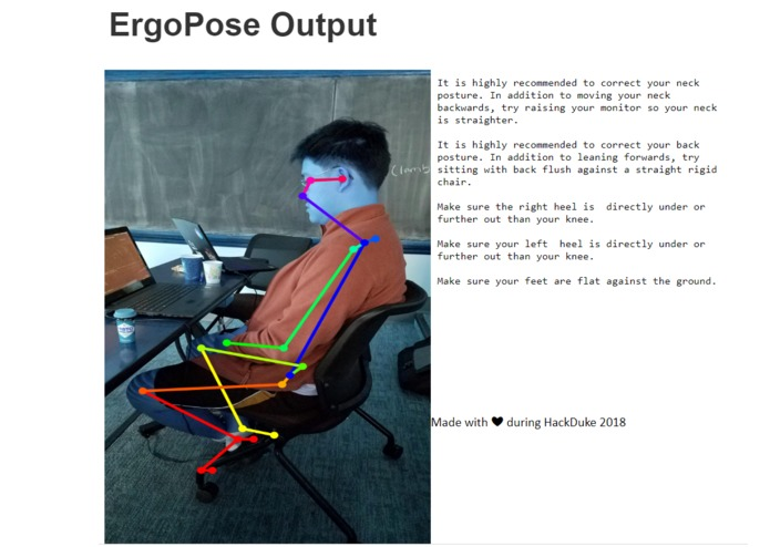 ErgoPose – screenshot 1