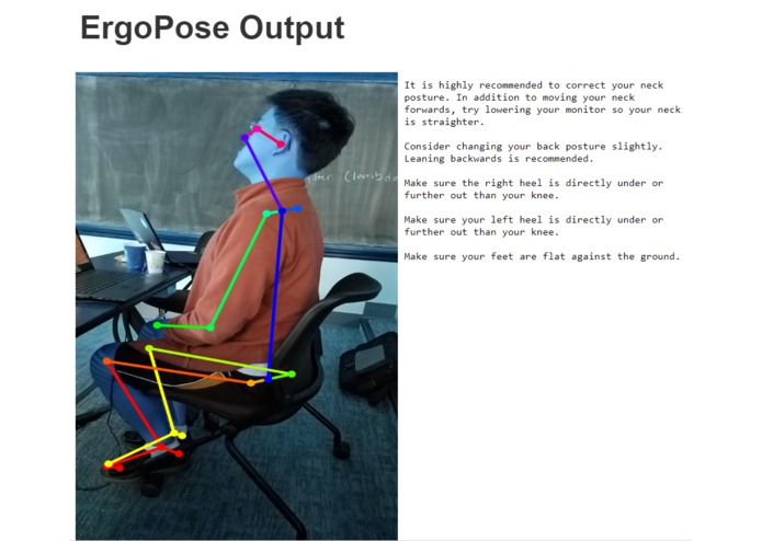 ErgoPose – screenshot 2