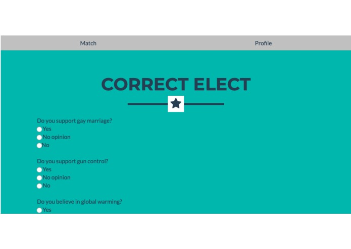 Correct Elect – screenshot 1