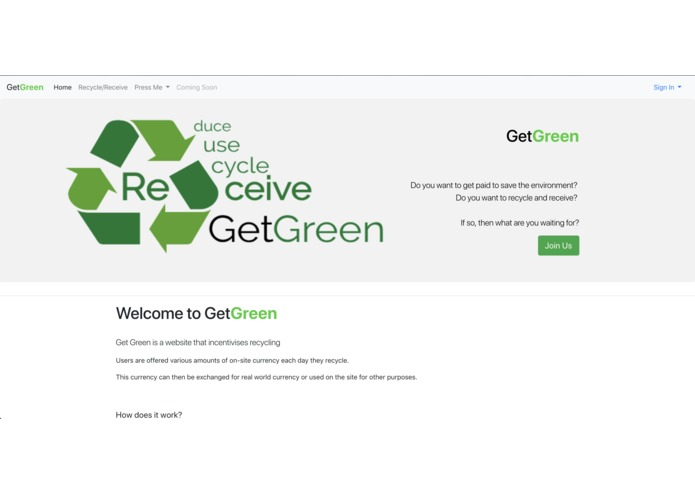 GetGreen – screenshot 1