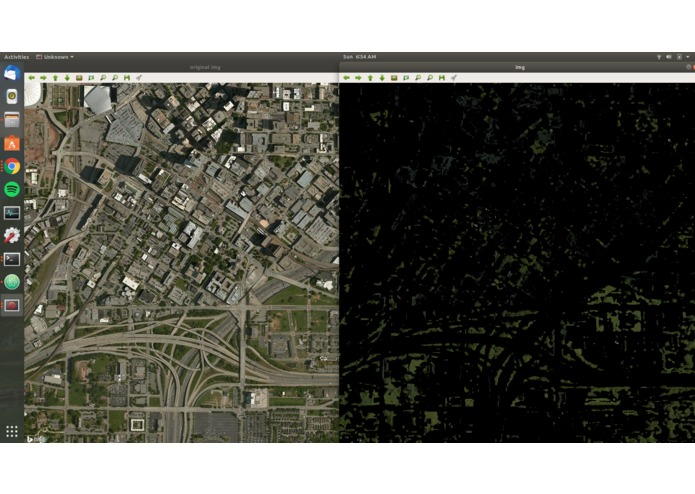 Urban Green Cover Analysis – screenshot 3