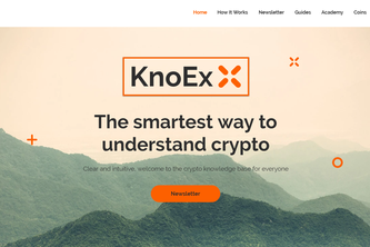 KnoEx - Start using crypto!