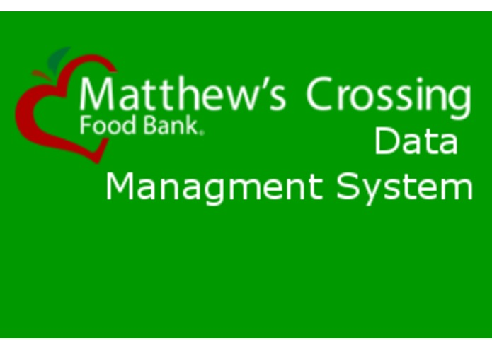 Matthews Crossing Data Manager – screenshot 1