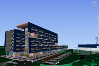 ARCHITECTURAL BIM MODELING FOR AN IT SEZ PROJECT