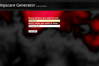 Jumpscare Generator