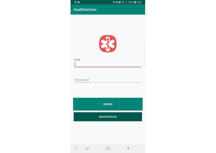 HealthAdvisor – screenshot 1