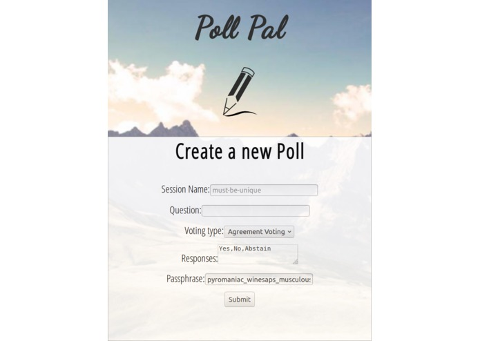 Poll Pal – screenshot 2