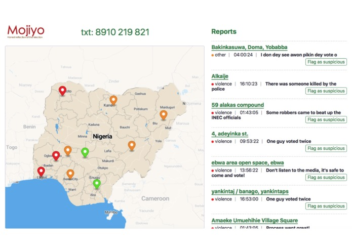 MOJIYO - Empowering Citizens to be Election Monitors – screenshot 1