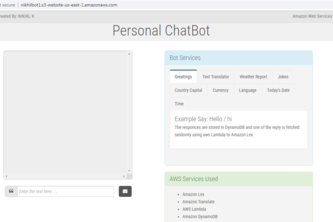 AI Personal Assistant Chat Bot