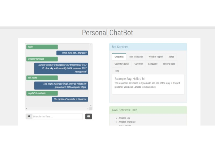 AI Personal Assistant Chat Bot – screenshot 2