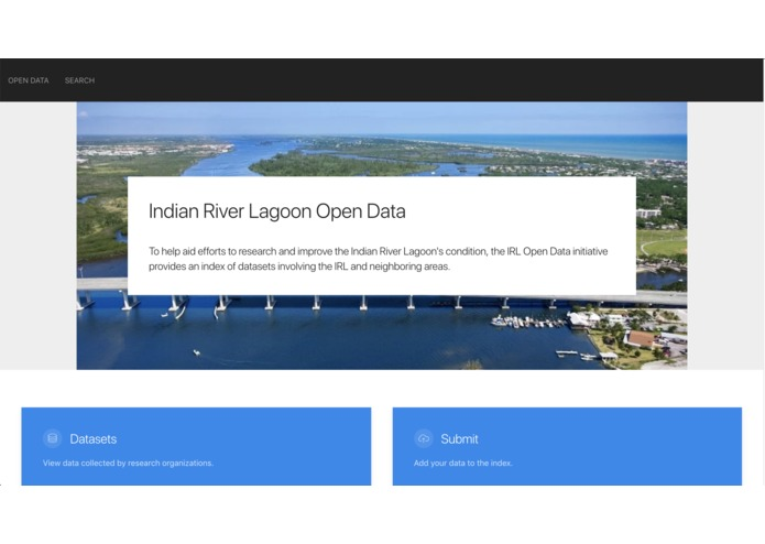 Indian River Lagoon Open Data – screenshot 1
