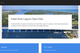 Indian River Lagoon Open Data