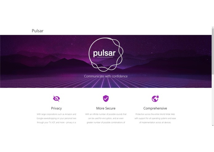 Pulsar – screenshot 1