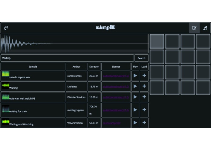xAmplR – screenshot 1