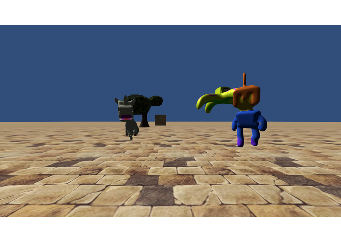Dino vs. Spartan – screenshot 1