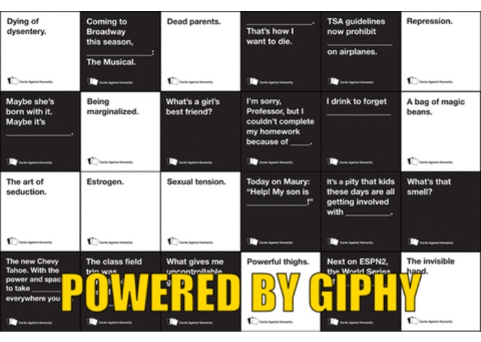 GIFS Against Humanity – screenshot 1