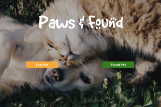 Paws and Found
