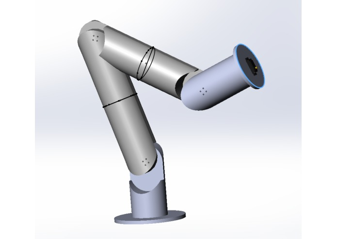 Telepresence with VR via Robotic Arm  – screenshot 2