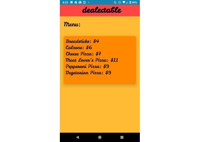 Dealectable – screenshot 3