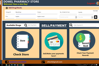 Pharmacy Store Management System