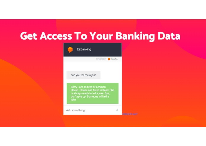 BANKING ASSISTANCE – screenshot 2