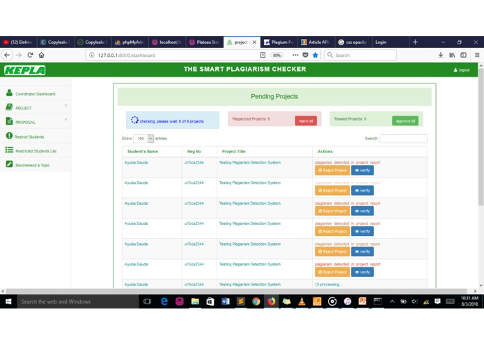KEPLA: THE SMART PLAGIARISM CHECKER – screenshot 1
