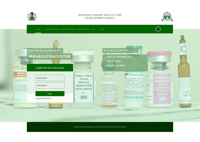 SOFTWARE-DEPENDENT IMMUNIZATION SYSTEM – screenshot 3