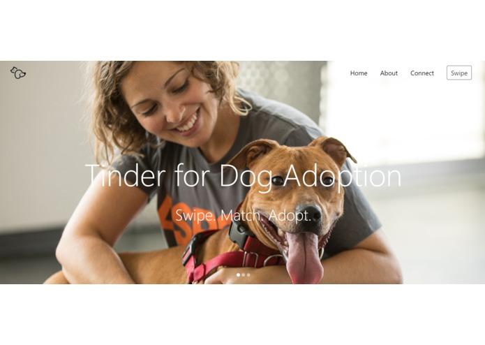 Tinder for Dog Adoption – screenshot 1