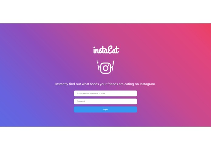 InstaEat – screenshot 1