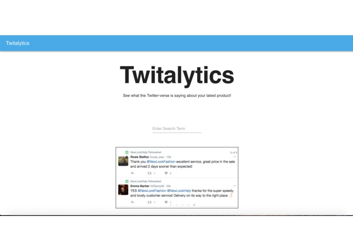 Twitalytics – screenshot 1