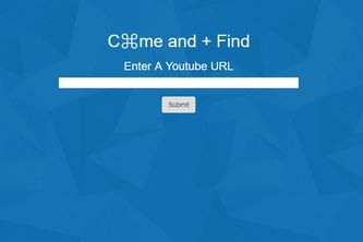 C⌘me and + Find