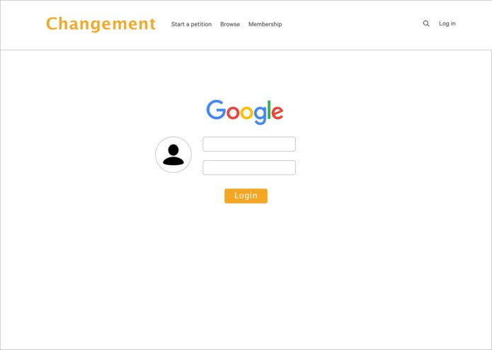 Changement – screenshot 1