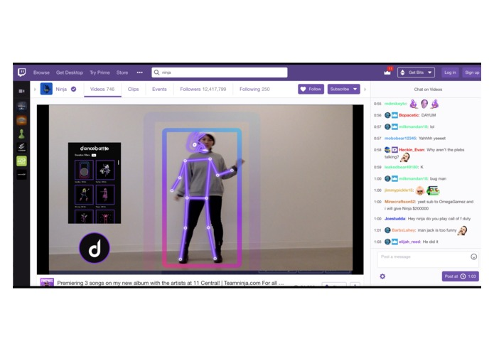 Dancebattle on Twitch – screenshot 2