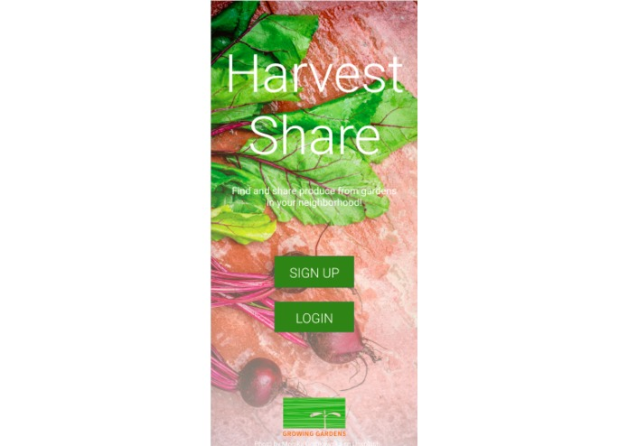 Team 5: Harvest Share – screenshot 3