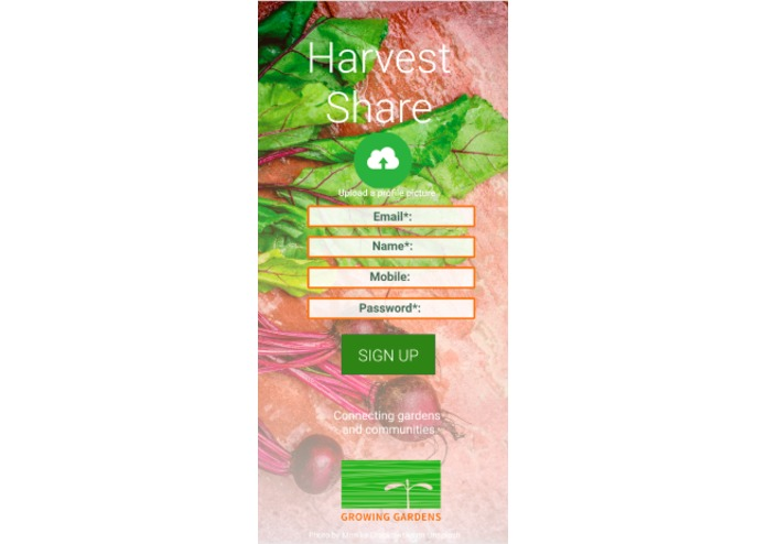 Team 5: Harvest Share – screenshot 5