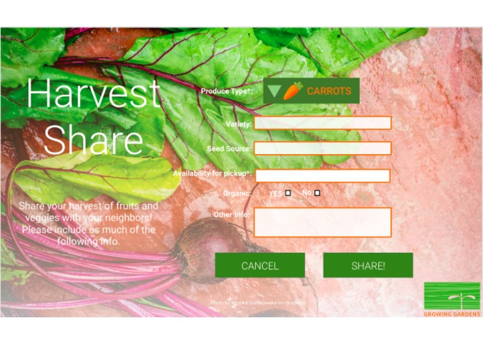 Team 5: Harvest Share – screenshot 8